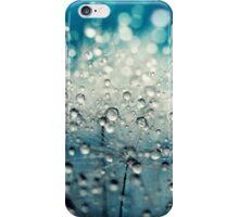 Dandy Blue & Drops iPhone Case/Skin