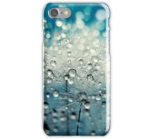 Dandy Blue & Drops iPhone Case/Skin