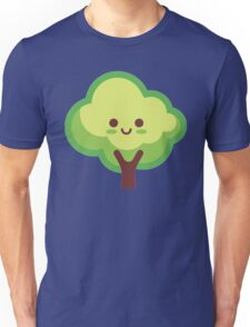 Cute Happy Tree Unisex T-Shirt