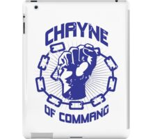 Chayne of Command iPad Case/Skin