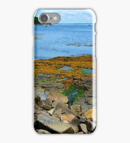 Bar Harbor Coast Line iPhone Case/Skin