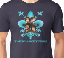 The Musketeers Disney Style Unisex T-Shirt