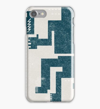 Buffalo Factory- Sitting Figure with Lightning in a Bottle iPhone Case/Skin
