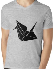 Crane  Mens V-Neck T-Shirt
