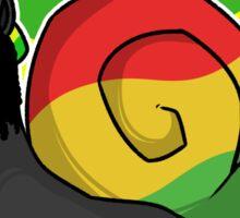 Jamaican Panther Snail - Flag Sticker