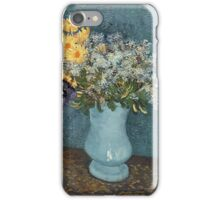 Vincent Van Gogh - Vase Of Flowers 1887 iPhone Case/Skin
