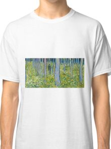 Vincent Van Gogh - Undergrowth With Two Figures, 1890  Classic T-Shirt