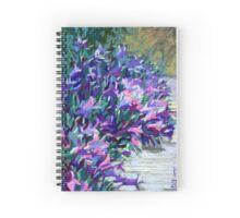 Blue bells. Flowers Spiral Notebook