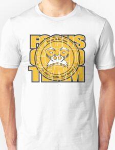 Focus Gold Team Jiu Jitsu Unisex T-Shirt
