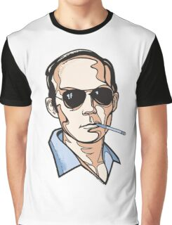 Hunter S. Thompson Graphic T-Shirt