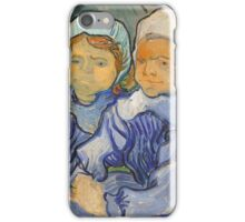 Vincent Van Gogh - Two Children, 1890 iPhone Case/Skin