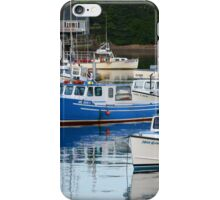 Boats on Bass Harbor iPhone Case/Skin