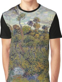 Vincent Van Gogh - Sunset At Montmajour, 1888 Graphic T-Shirt