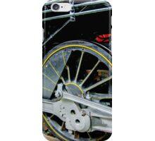 Locomotive wheels iPhone Case/Skin