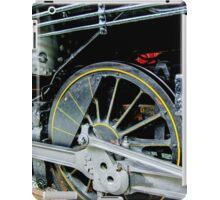 Locomotive wheels iPad Case/Skin