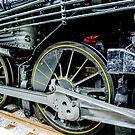 Locomotive wheels by Mark Fendrick