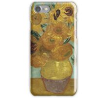 Vincent Van Gogh - Sunflowers, 1889 iPhone Case/Skin