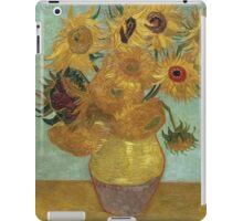 Vincent Van Gogh - Sunflowers, 1889 iPad Case/Skin