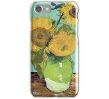 Vincent Van Gogh - Sunflowers, 1888 iPhone Case/Skin