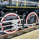 Locomotive Wheels (2) by Mark Fendrick