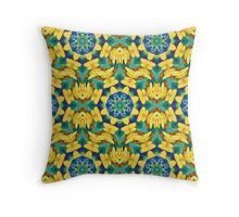 Always a Season for Sunflowers_ReImaged_#8 Throw Pillow