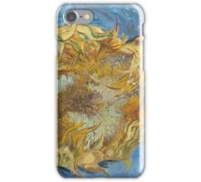 Vincent Van Gogh - Still Life With Two Sunflowers, 1887 iPhone Case/Skin