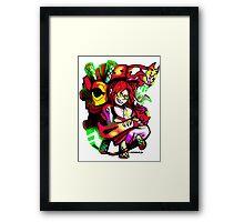 Evangelion - Mari & Eva 02 Framed Print