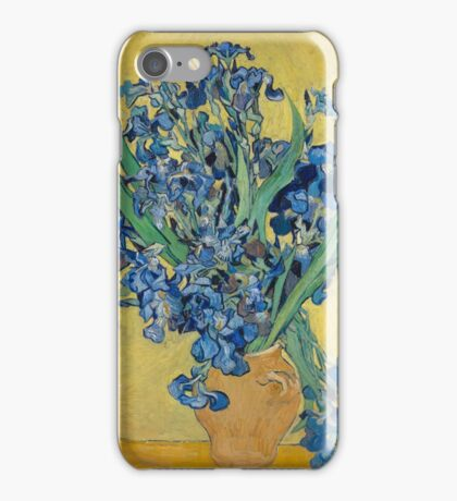 Vincent Van Gogh - Still Life With Irises, 1890 iPhone Case/Skin