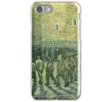 Vincent Van Gogh - Prisoners Exercising Prisoners Round 1890 iPhone Case/Skin