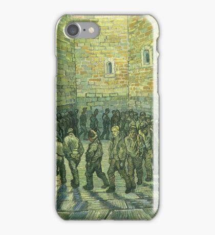 Vincent Van Gogh - Prisoners Exercising Prisoners Round 1890 iPhone Case/Skin