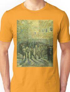 Vincent Van Gogh - Prisoners Exercising Prisoners Round 1890 Unisex T-Shirt