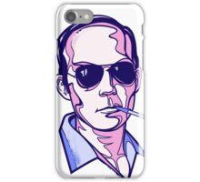 Hunter S. Thompson violet iPhone Case/Skin