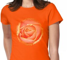 Melting Rose ~ a Flood of Color Womens Fitted T-Shirt