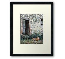 Italian Countryside Framed Print
