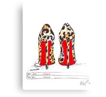 Louboutin Obsession Canvas Print