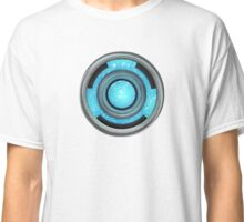 Heart Reactor - Blue Plasma  Classic T-Shirt