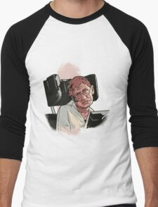 Stephen Hawking Men's Baseball ¾ T-Shirt