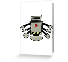 Vectorbot 006 Greeting Card