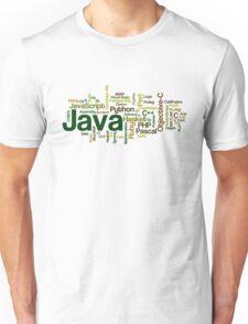 programming languages cloud Unisex T-Shirt
