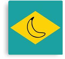 yellow banana Canvas Print