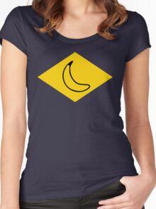 yellow banana Women's Fitted Scoop T-Shirt