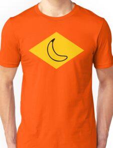 yellow banana Unisex T-Shirt