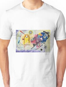 Wassily Kandinsky - Yellow Red Blue 1925  Unisex T-Shirt