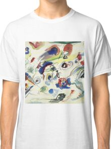 Wassily Kandinsky - Untitled First Abstract Watercolor 1910  Classic T-Shirt
