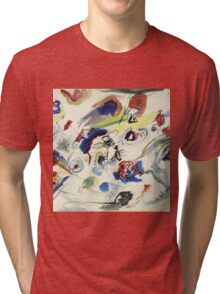Wassily Kandinsky - Untitled First Abstract Watercolor 1910  Tri-blend T-Shirt