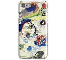 Wassily Kandinsky - Untitled First Abstract Watercolor 1910  iPhone Case/Skin