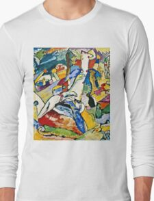 Wassily Kandinsky - Sketch For Composition Ii  Long Sleeve T-Shirt
