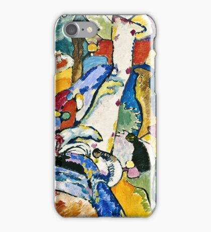 Wassily Kandinsky - Sketch For Composition Ii  iPhone Case/Skin