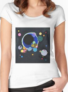 Wassily Kandinsky - Several Circles 1926  Women's Fitted Scoop T-Shirt