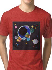 Wassily Kandinsky - Several Circles 1926  Tri-blend T-Shirt